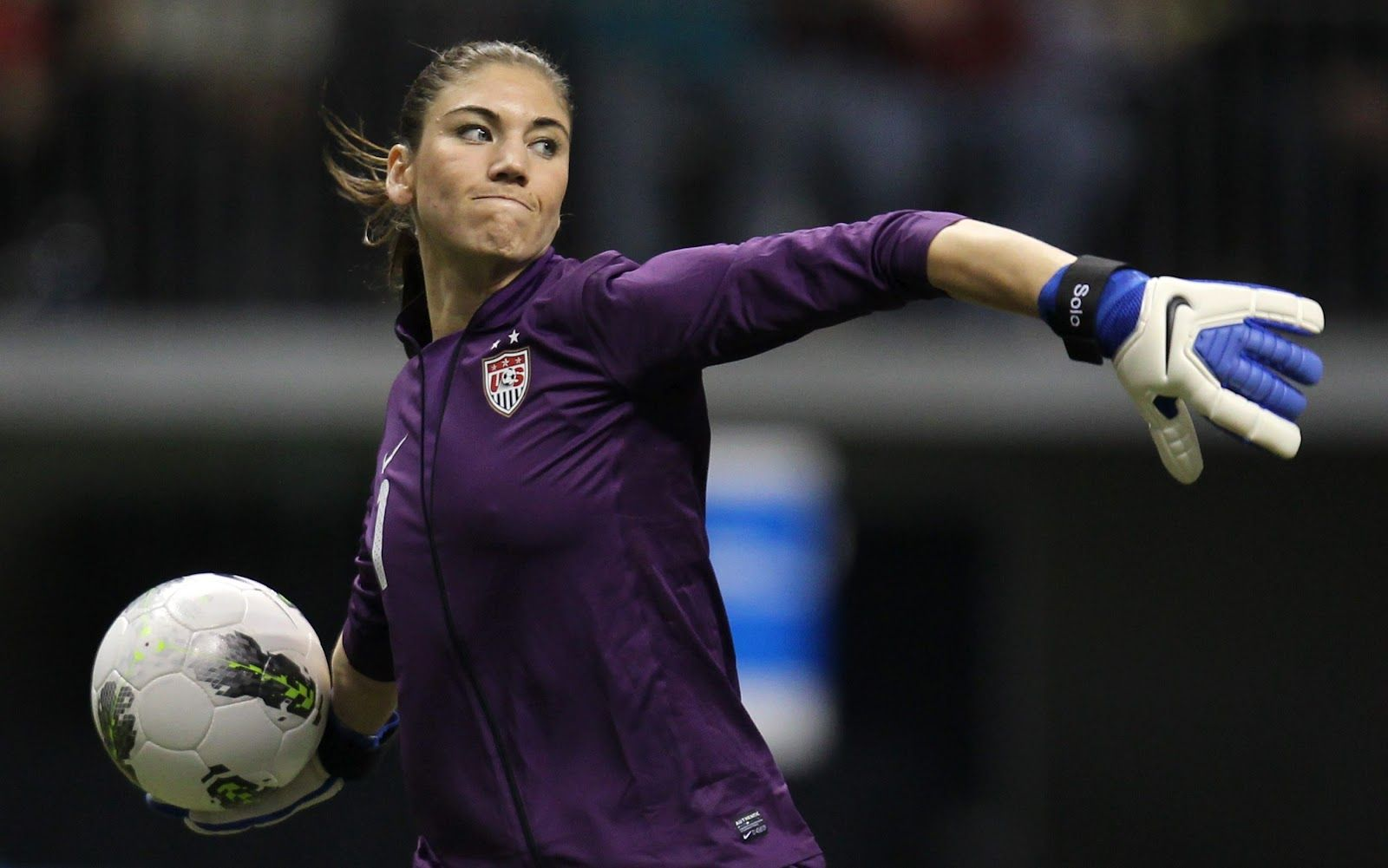 Hope Solo Awesome Hope Solo Usa Soccer Women Female Soccer Players