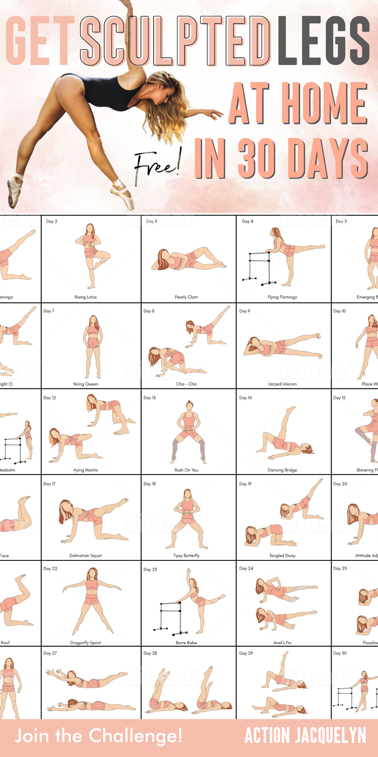 Want Toned, Strong and Flexible Legs in 30 Days?