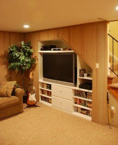 Basement Under Stair Storage Design, Pictures, Remodel