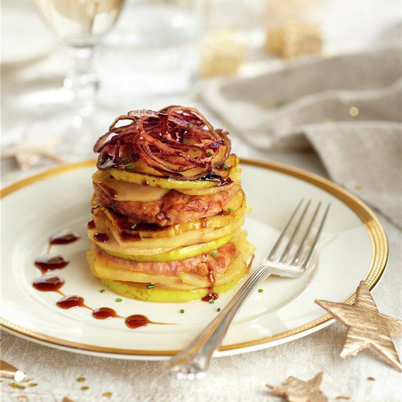 Milhojas De Patata Y Foie Receta Comida Recetas Con Foie Recetas De Comida
