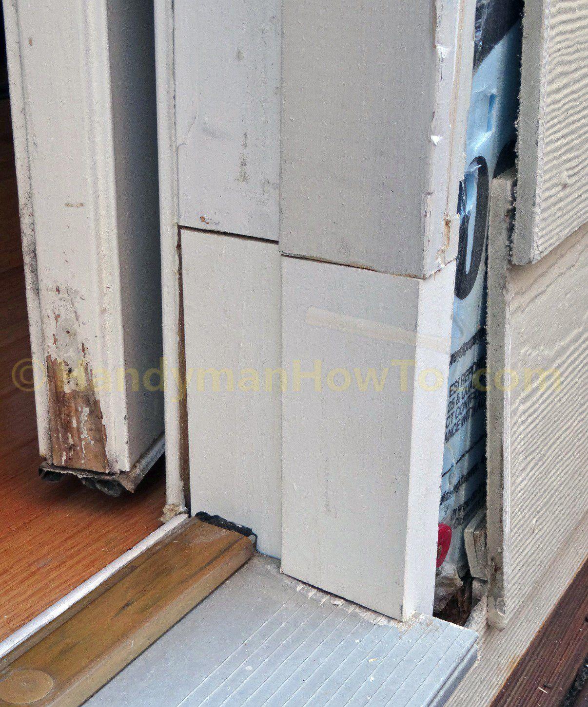 Rotted Exterior Door Frame Splice Repair Exterior Door Frame