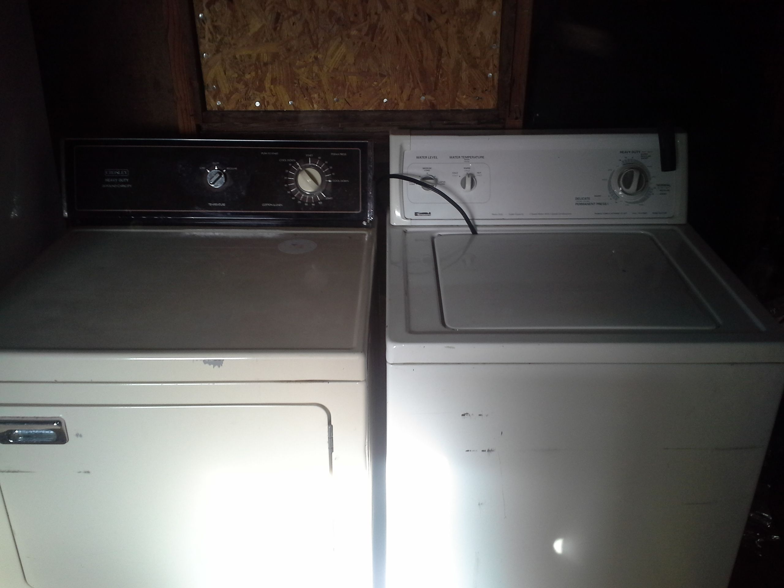 Washer And Dryer In Rebeccavp S Garage Sale Tahlequah Ok Washer