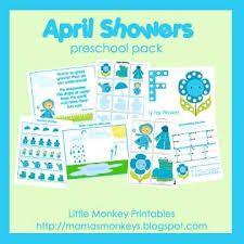 Resultado de imagen de april showers bulletin boards