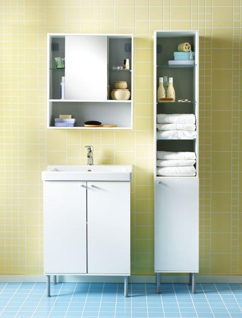 FULLEN Wash-basin cabinet, white   Basin, Vanity desk and ...