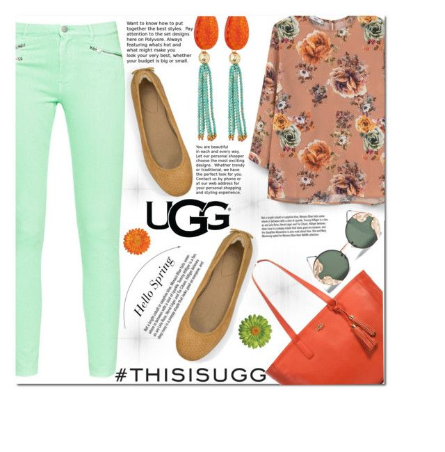 """""""Play With Prints In UGG: Contest Entry"""" by cherry-bh ❤ liked on Polyvore featuring UGG Australia, MANGO, French Connection, Panacea, Spitfire, Garance Doré, Spring, polyvoreeditorial and thisisugg"""