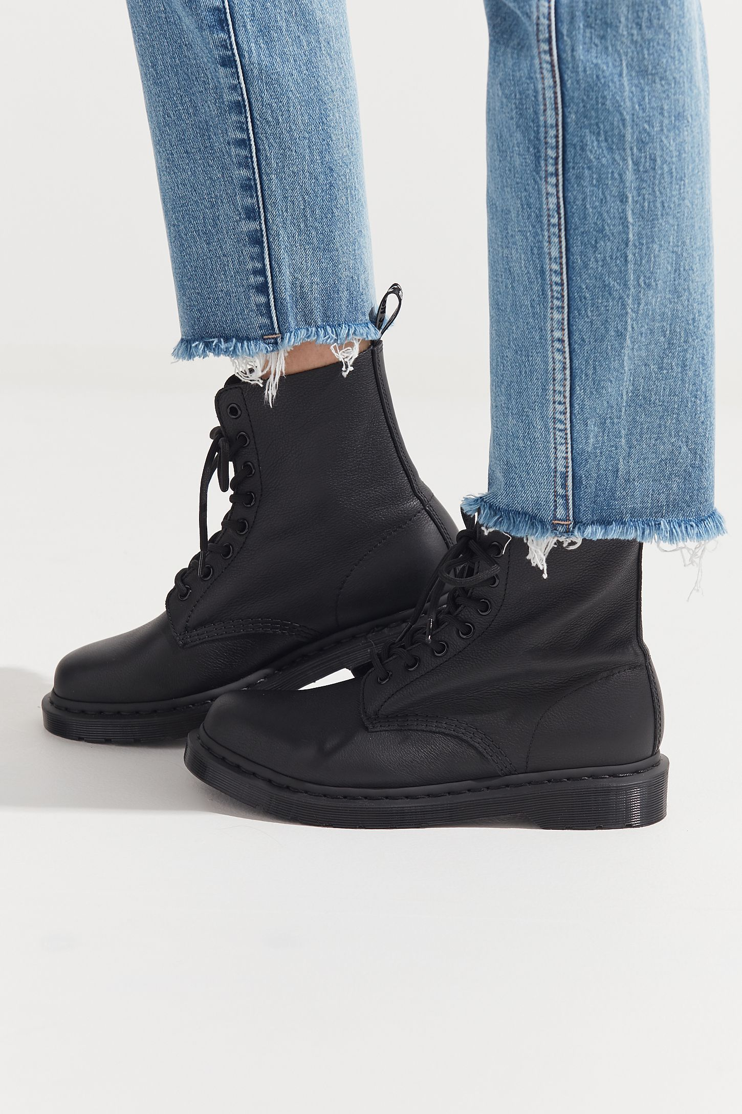 d6c8b228ed3 Dr. Martens 1460 Pascal Virginia Mono Boot in 2019 | SHOES | Boots ...
