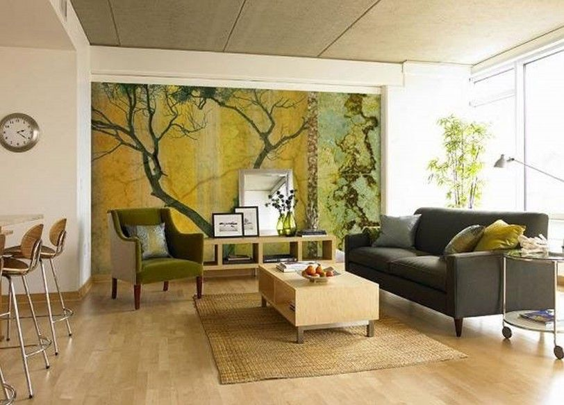 Natural Living Room Design with Modern Sofa Pictures Of Contemporary ...
