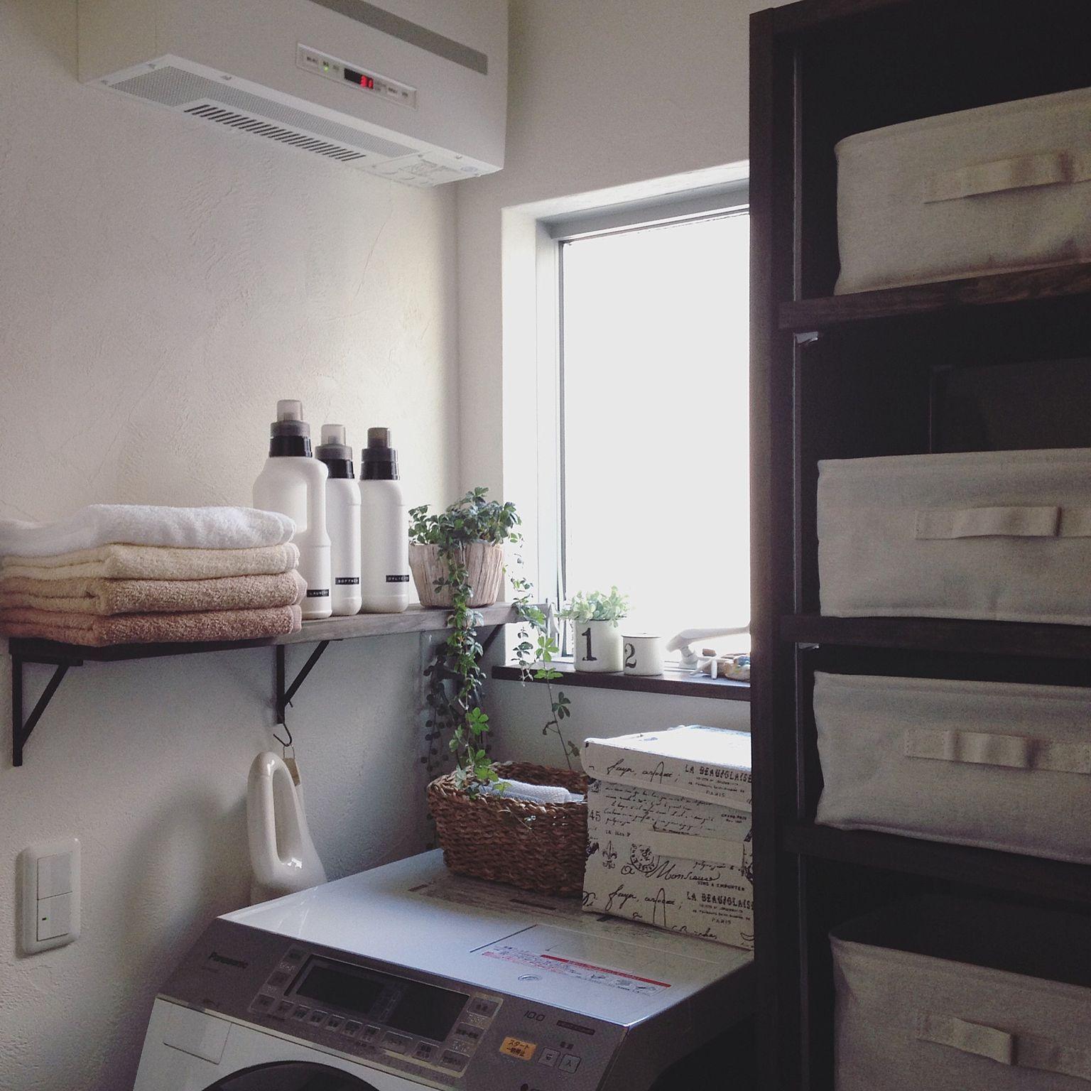 洗濯機上を有効活用する収納アイデア48選 収納 アイデア 海外