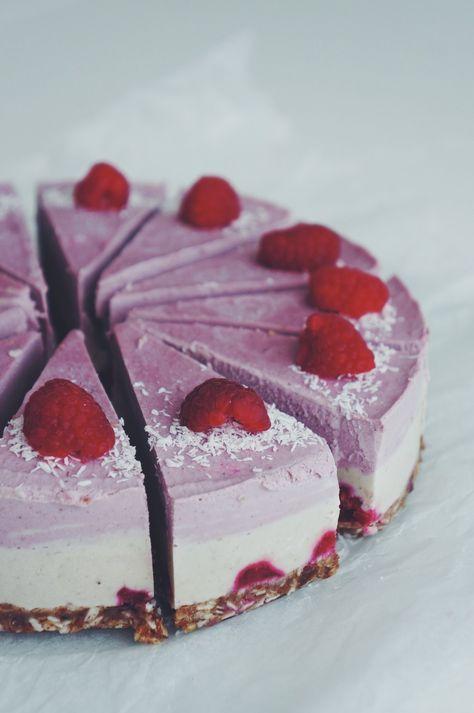 valkosuklaavadelma goes RAW. - i make cake | Lily.fi