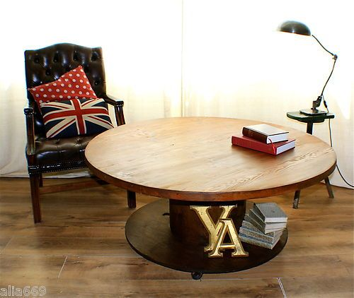 Perfect Coffee Table For Rough Luxe Interiors A Vintage Upcycled Recycled Refreshed