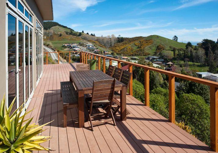 Ecological Plastic Wood Flooring | Outdoor living deck ...