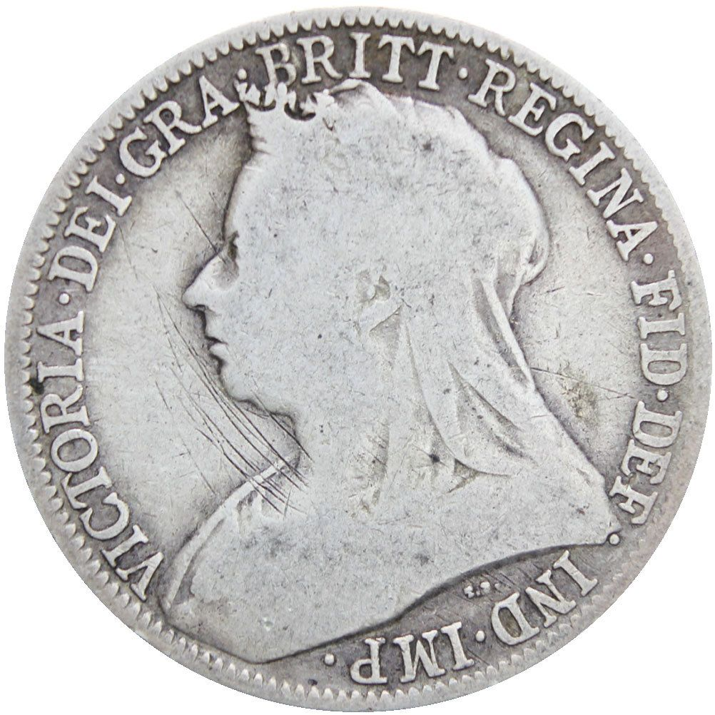 victoria dei gratia regina coin 1898
