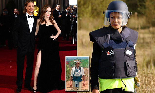 Angelina wanted to move to pursue her political ambitions including as a champion of landmine victims, following in the footsteps of the late Princess Diana.