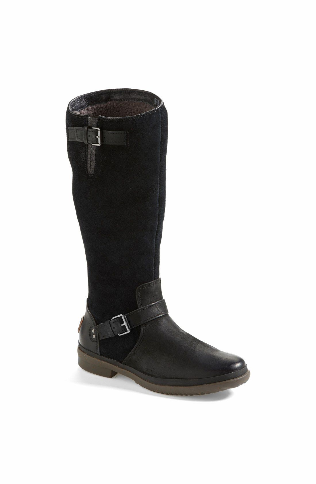 Keeping dry and warm in these new UGG® Australia 'Thomsen' waterproof  leather knee