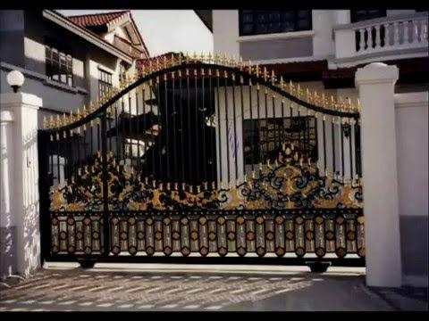 Iron Gates Ornamental Custom Design Artistic Estate Main Iron Gates