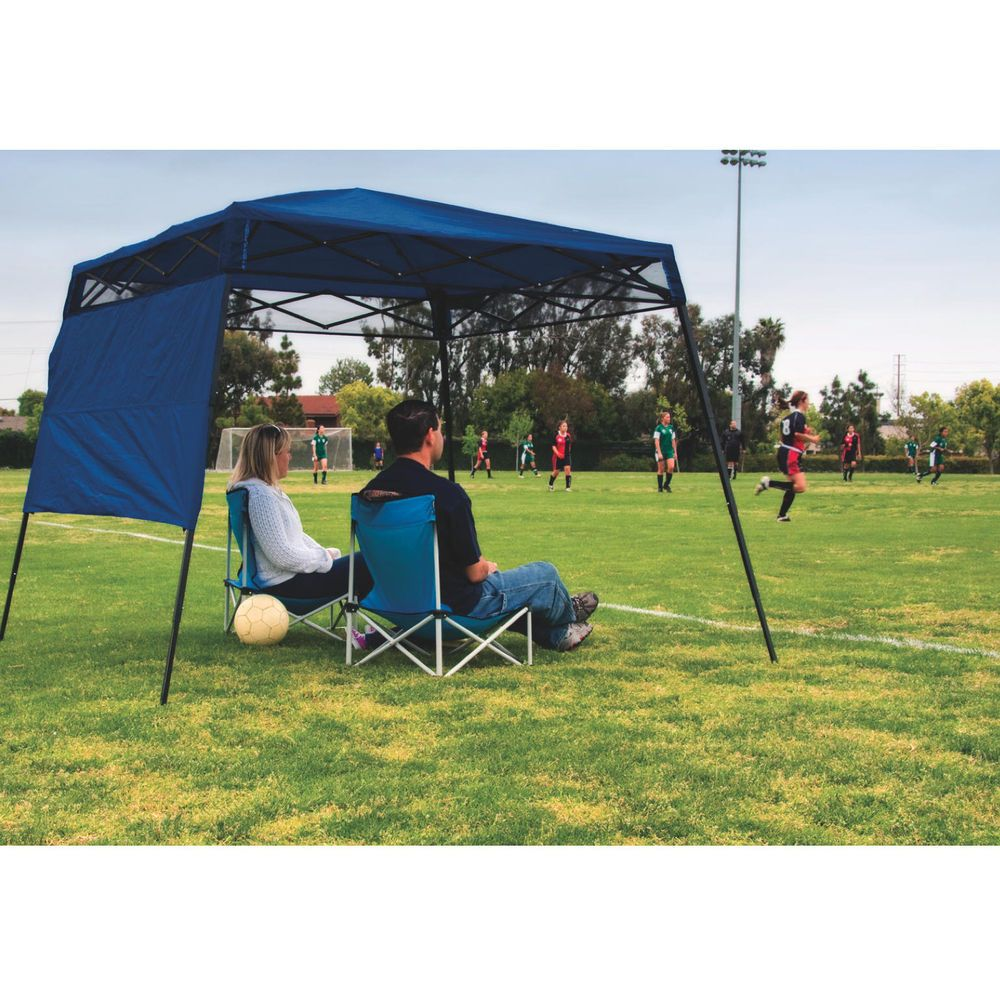 Portable shade canopy 7x7 pop up gazebo beach garden for Picnic gazebo