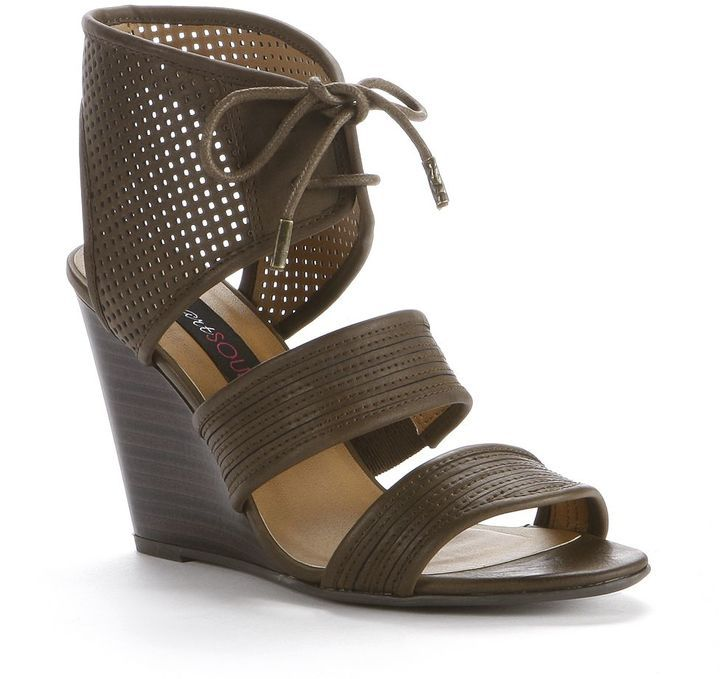 Heartsoul affina wedge sandals - women