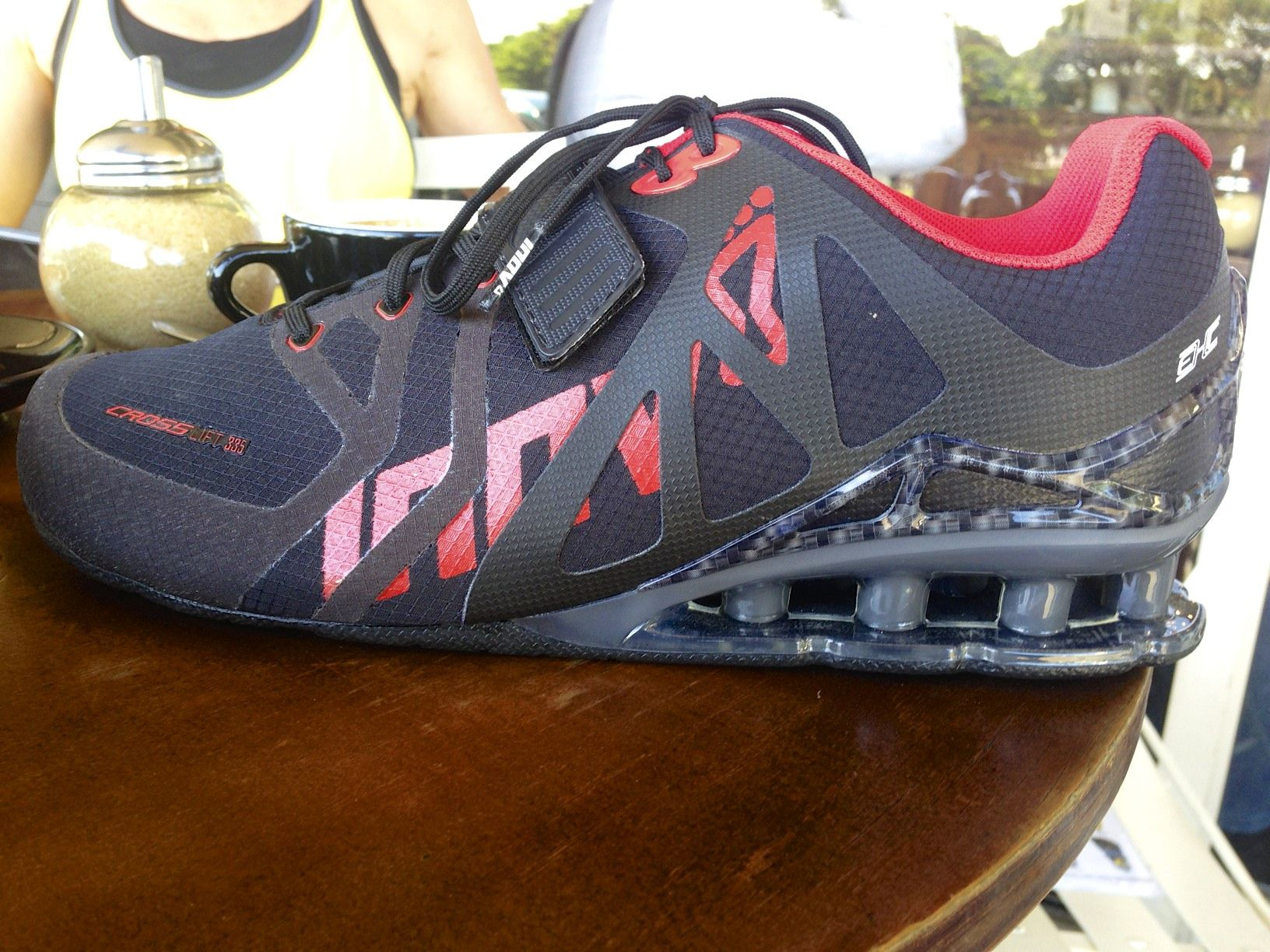 dc46c6bf0a6 First look at the Inov-8 Weightlifting Shoe the CrossLift 315 Crossfit  Lifting Shoes