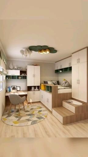 Creative bedroom design