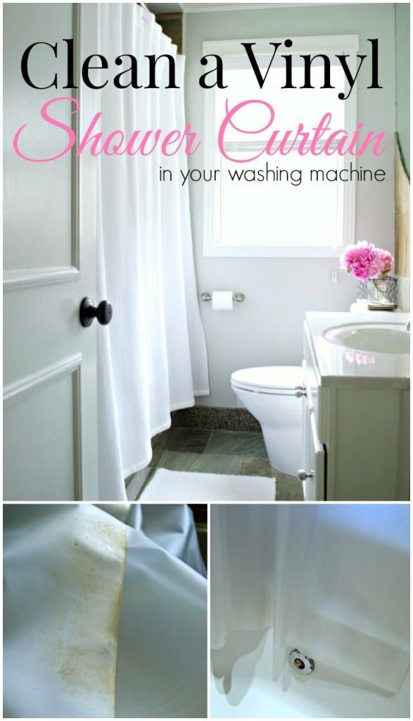 Tips On How To Clean A Vinyl Shower Curtain In Your Washing Machine So Easy Do Chatfieldcourt