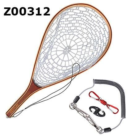 Goture Fly Fishing Net Rubber Mesh with Wooden Frame Hand | Products ...