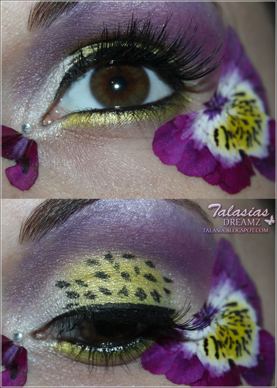 small resolution of flower eye make up datum 13 05 2012 http talasia