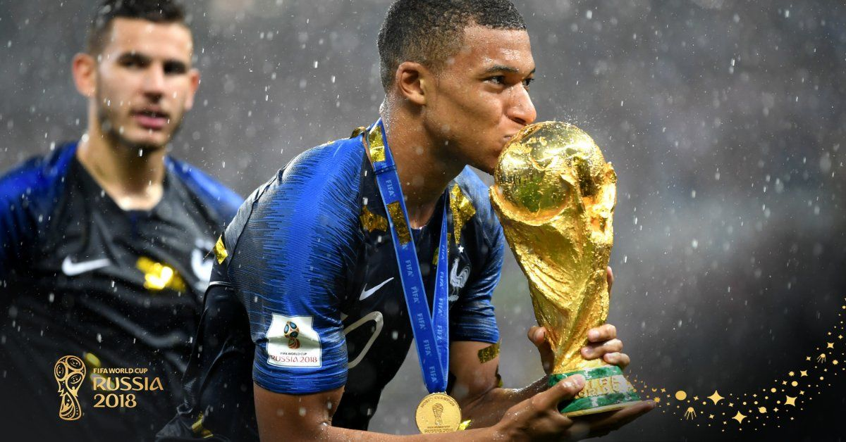 Mbappe Worldcupfinalpic Twitter Com Gb6ejlwmjd World Cup Match Of The Day World Cup Winners