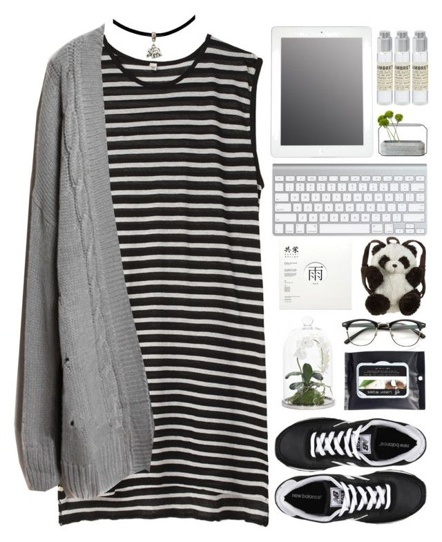"""""""Lisa"""" by justonegirlwithdreams ❤ liked on Polyvore featuring R13, Le Labo, New Balance, Spécimen Editions, NDI, Panda, women's clothing, women's fashion, women and female"""