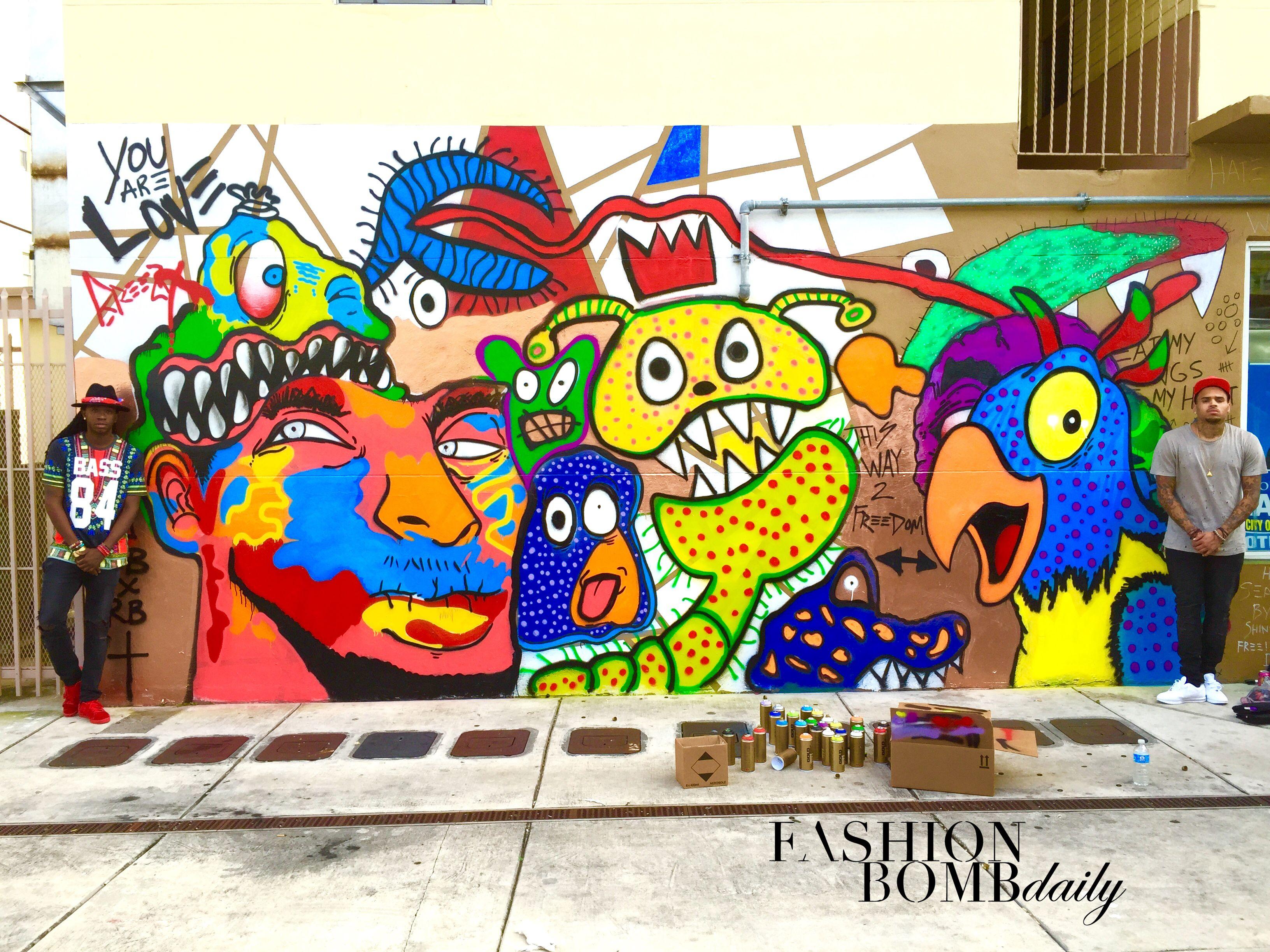 Google themes graffiti - Chris Brown Graffiti Google Search