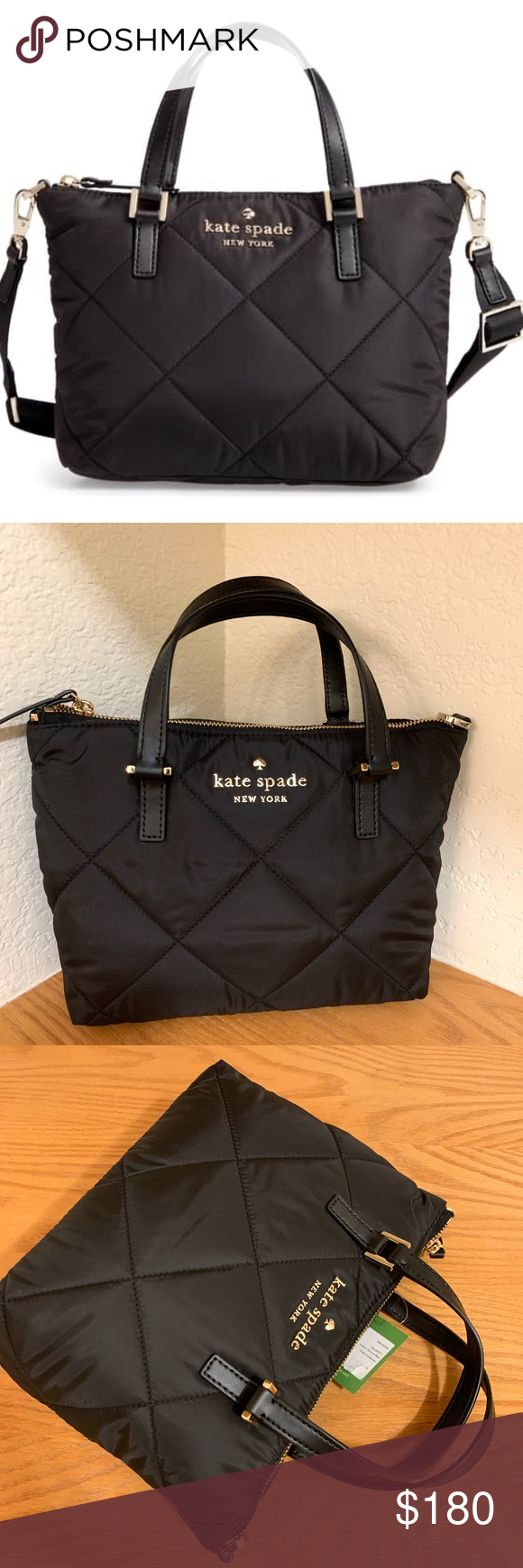 bdccb96bf Nwt Kate spade Watson lane lucie quilted crossbody Item is brand new with  tag attached SIZE