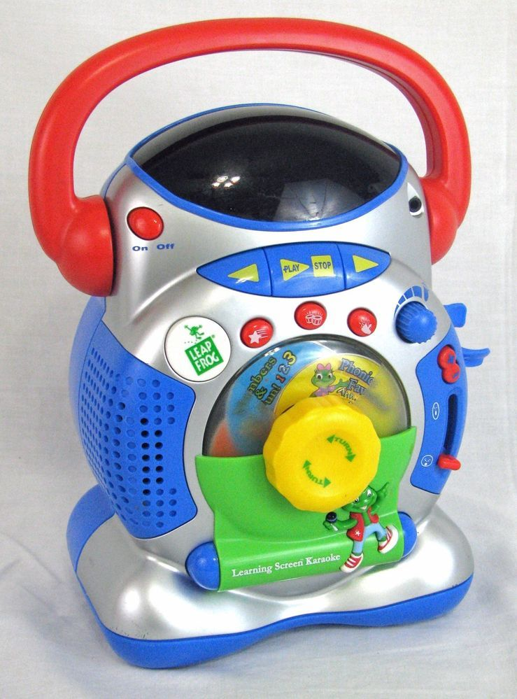 Leap Frog Karaoke Singing Machine Toy Learning Screen Music