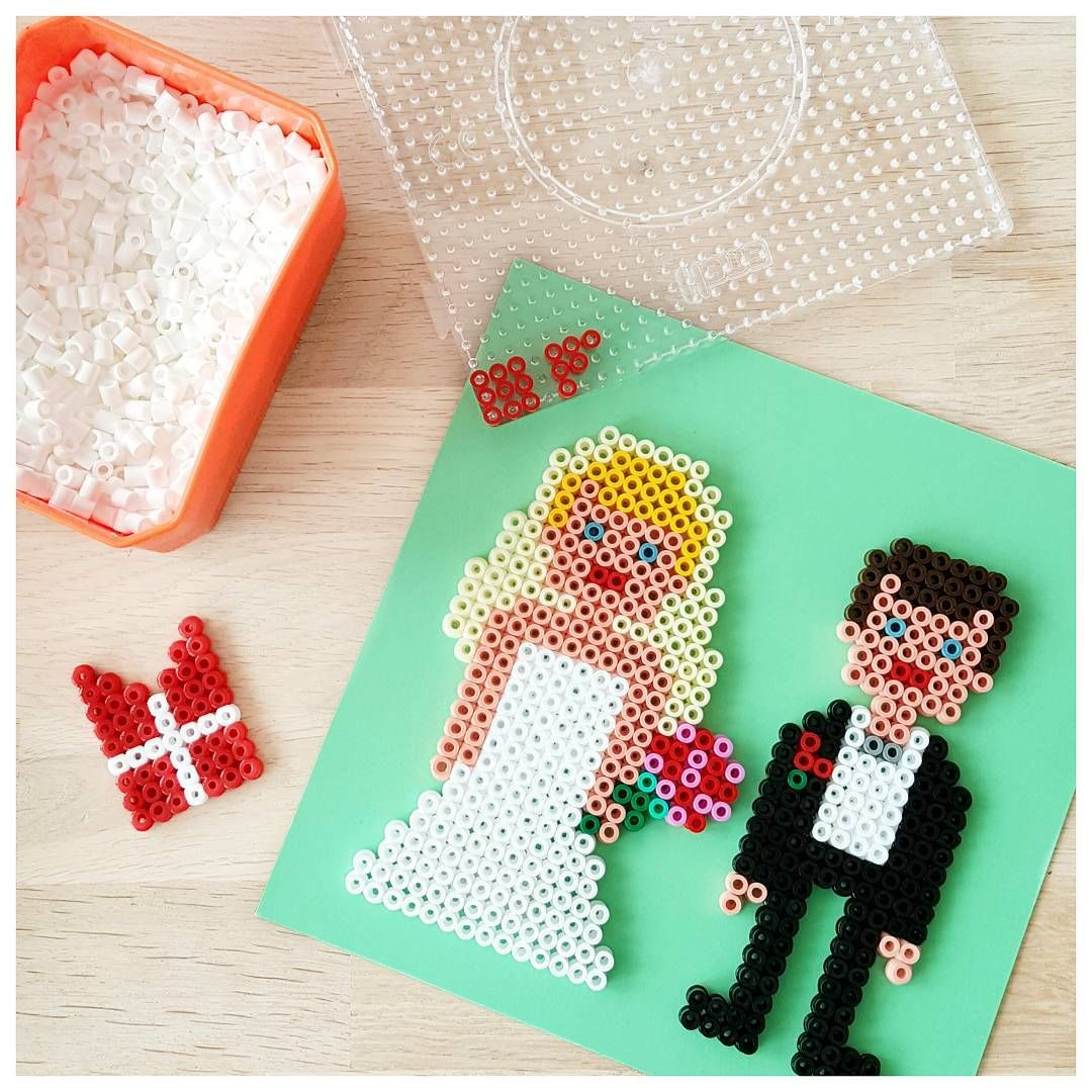 Wedding hama beads by biancasverden