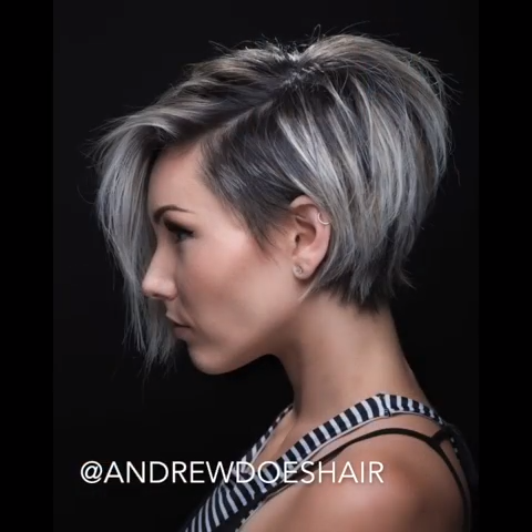 Short Hairstyles to Refresh Your Look Today By the way, besides short haircuts, we have prepared for you a great overview about women's haircuts and women's haircuts for medium hair.
