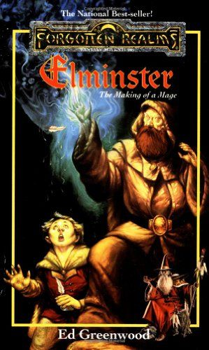 Elminster: The Making of a Mage (Forgotten Realms) by Ed Greenwood http://www.amazon.com/dp/0786902035/ref=cm_sw_r_pi_dp_.zDfvb1JKE598