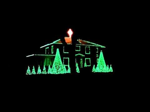Christmas Lighting Display By Victor Johnson Of Paxton Il