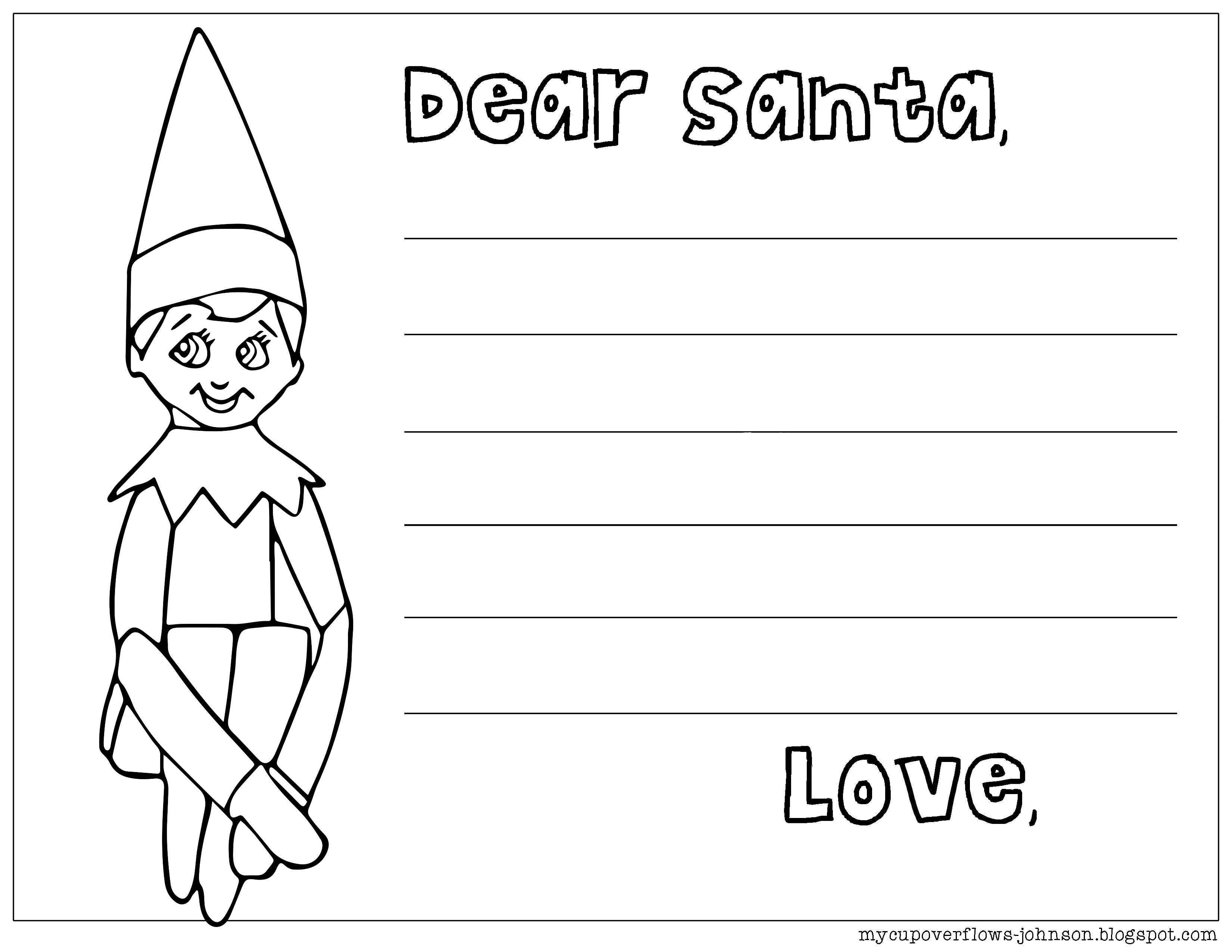 Elf On The Shelf Coloring Page Coloring Pages Online Coloring Pages Elf On The Shelf