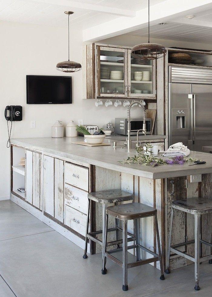 Remodeling 101: Concrete Countertops   Kitchen   Pinterest   Küche ...