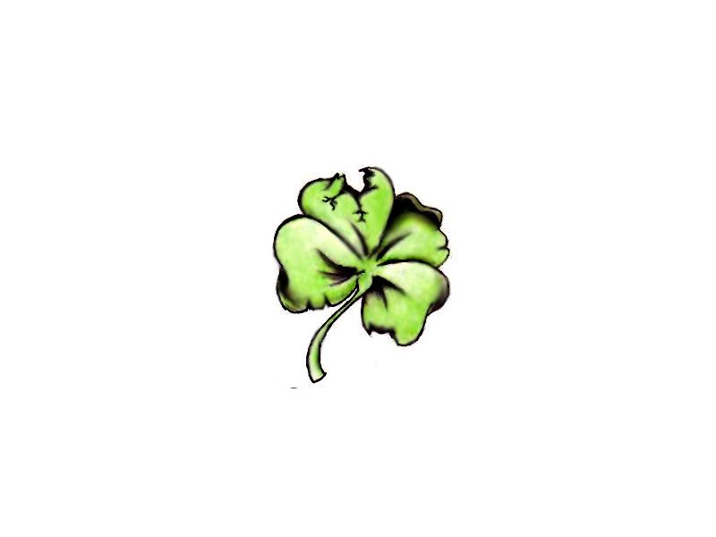 Four Leaf Clover tattoos - what do they mean? Tattoos