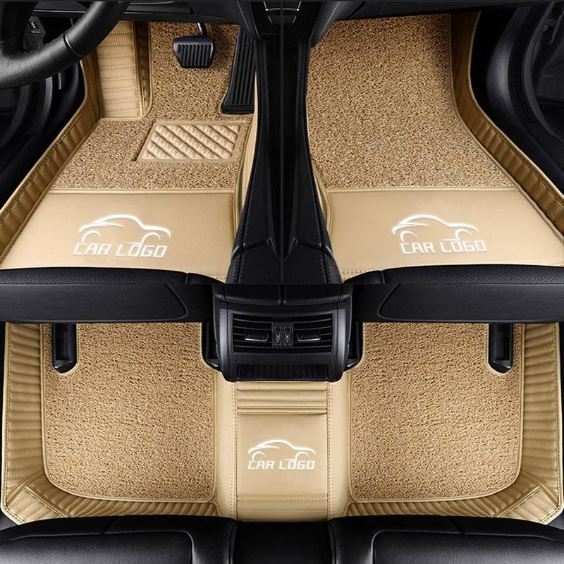 Car Interior Carpet For Ford Mondeo Focus Fiesta Edge Explorer Taurus S Max C Max F 150 Mustang Explorer 5 2006 2016 Floor Mat Fit Car Ford Logo Car Floor Mats