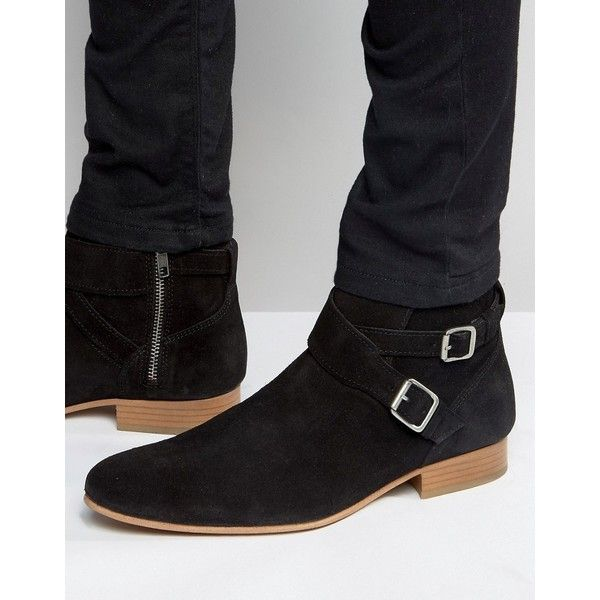 ba5c4e5c7698 House Of Hounds Suede Jodphur Boots ( 110) ❤ liked on Polyvore featuring  men s fashion