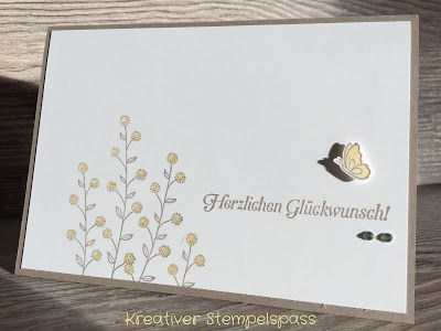 Kreativer Stempelspaß: Flowering Fields