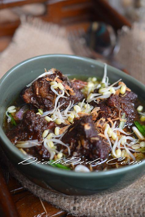Diah Didi S Kitchen Perkedel Jamur Rawon Iga Nyemek Resep Masakan Resep Masakan Asia Jamur
