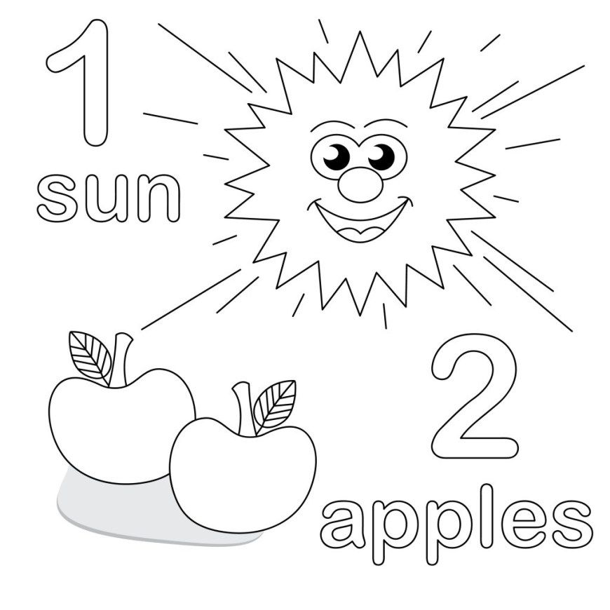 25 Great Image Of Number 1 Coloring Page Davemelillo Com Preschool Coloring Pages Kindergarten Coloring Pages Preschool Worksheets