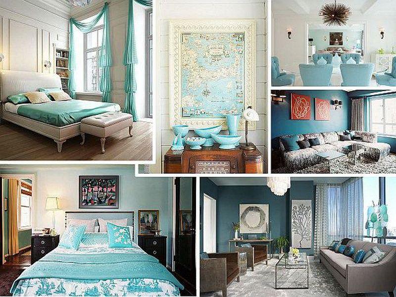 Using Shades Of Aqua Blue For Interior Home Decor