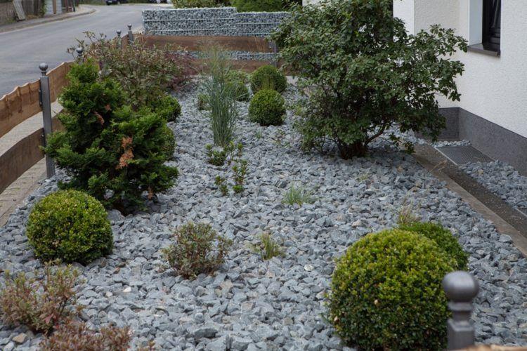 kies steine vorgarten picture picture | kiesgarten | pinterest, Garten und Bauen