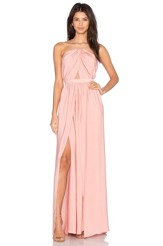 THE JETSET DIARIES Lotus Maxi Dress in Blush   ≫∙∙babeland ...