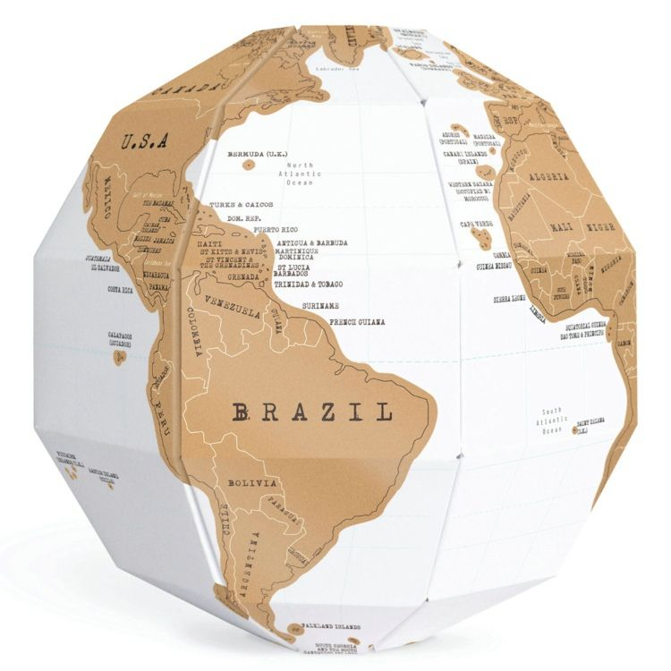 Cheap puzzles on sale at bargain price buy quality stationeries scratch globe map is brilliantits the perfect way to show off where youve been travelingere is a difference between it and general mapsscratch off gumiabroncs Choice Image