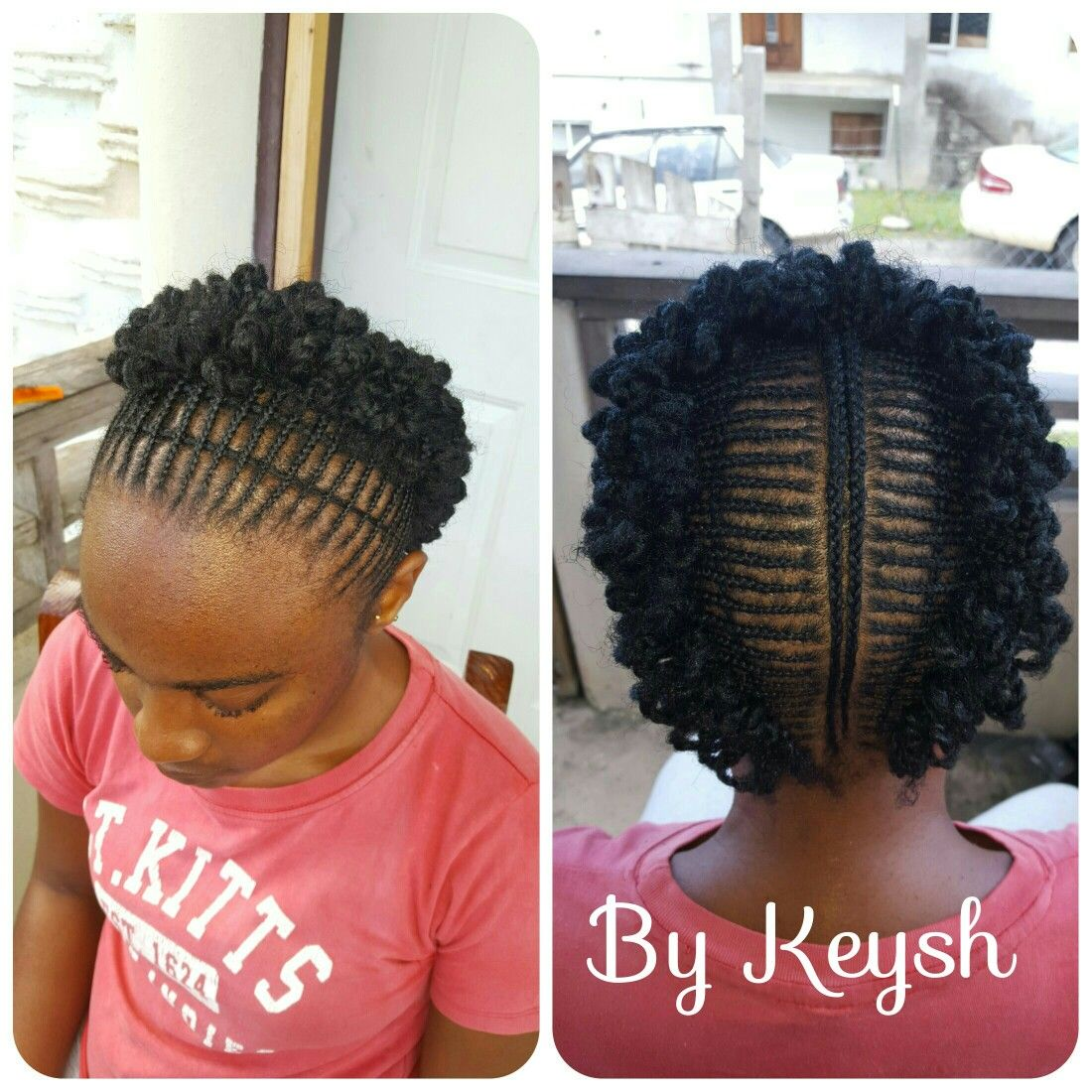 Natural Hairstyle Jalicia Inspired Cornrow Hairstyles