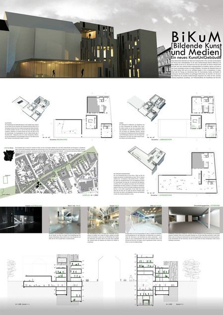 architectural presentation layout Google Search