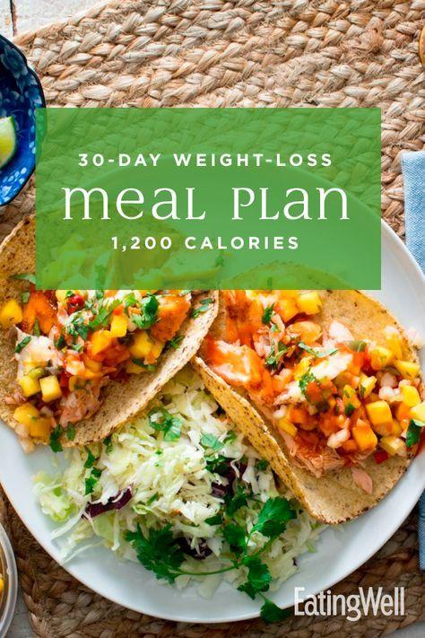 Einfacher 30-Tage-Diätplan: 1.200 Kalorien   – Mediterranean food